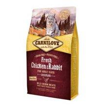 Carnilove Cat Fresh Chicken & Rabbit for Adult 2kg