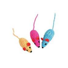 Hračka kočka Elastic mouse mix barev Zolux