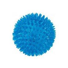 Hračka pes BALL TPR POP 8cm s ostny tyrkysová Zolux