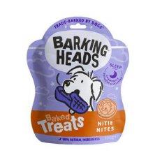 BARKING HEADS Baked Treats Nitie Nites 100g