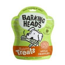 BARKING HEADS Baked Treats Apple Snaffles 100g