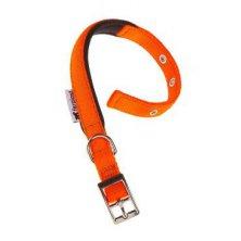 Obojek nylon DAYTONA C 35cmx15mm oranžový FP 1ks
