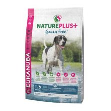 Eukanuba Dog Nature Plus+ Adult Grain Free Salmon 10kg