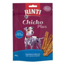 Rinti Dog Extra Chicko Plus pochoutka losos+kuře 80g