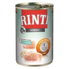 Rinti Dog Sensible konzerva kuře+rýže 400g