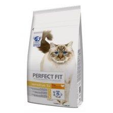 Perfect Fit CAT Sensitive 1+ s krůtím 7kg