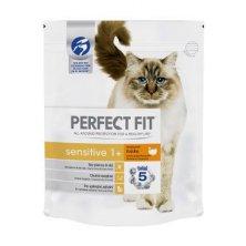 Perfect Fit CAT Sensitive 1+ s krůtím 1,4kg