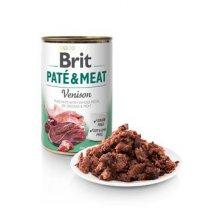 Brit Dog konz Paté & Meat Venison 800g