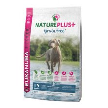 Eukanuba Dog Nature Plus+ Puppy Grain Free Salmon 10kg
