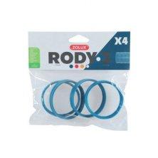Komponenty Rody 3-spojovací kroužek modrý 4ks Zolux