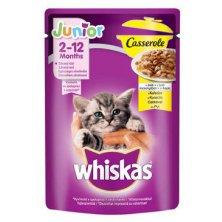 Whiskas kapsa Casserole Junior kuřecí v želé 85g