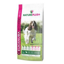 Eukanuba Dog Nature Plus+ Adult Med. froz Lamb 14kg