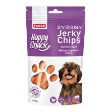 Beaphar Dog Happy Snack pochoutka kuřecí chipsy 60g