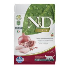 N&D GF PRIME CAT Neutered Chicken&Pomegranate 1,5kg