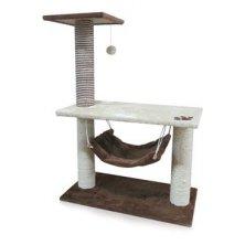 Škrábadlo Alcina Grande mokka 75x40x106 cm