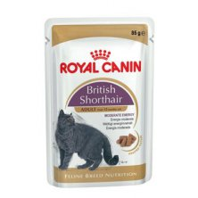 Royal Canin Breed  Feline British Short kapsa,želé 85g