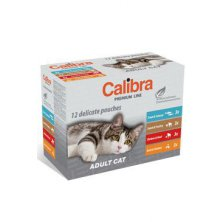 Calibra Cat  kapsa Premium Adult  multipack 12x100g
