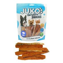 Juko excl.Smarty Snack Salmon strip with fishskin 250g
