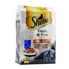 Sheba kapsa Fresh Fine Mixovaný výběr 6x50g