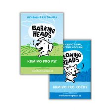 BARKING HEADS  MEOWING HEADS brožura A5