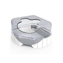 Komponenty Rody 3-toaleta bílá Zolux
