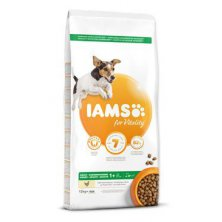 Iams Dog Adult Small&Medium Chicken 12kg