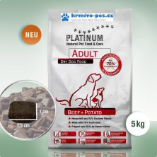 Platinum Natural Beef+Potatoes 5kg