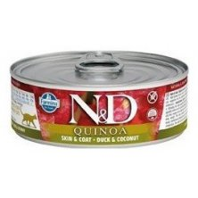 N&D CAT QUINOA Duck & Coconut 80g