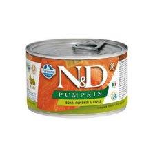 N&D DOG PUMPKIN Adult Boar & Apple Mini 140g