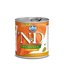 N&D DOG PUMPKIN Adult Quail & Pumpkin 285g