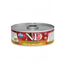 N&D CAT QUINOA Quail & Coconut 80g
