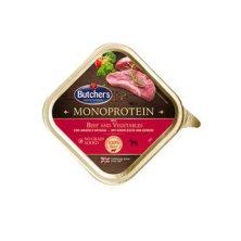 Butcher´s Dog Monoprotein s hovězím a zelen. konz 390g