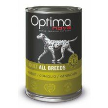 Optima Nova Dog GF Rabbit konzerva 400g