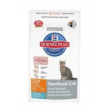 Hill´s Feline  Dry Adult Young Sterilized Tuna 1,5kg