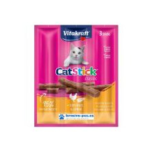 Vitakraft Cat pochoutka Stick Clasic Poultry/Liver 3ks