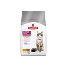 Hill´s Feline Dry Sensitive Stomach Skin s kuřete1,5kg