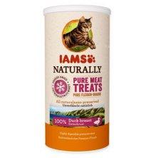 Iams Naturally Cat 100% kachní kostky 25g