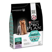 ProPlan Dog Adult Sm&Mini OptiDigest GrainFr krůt2,5kg