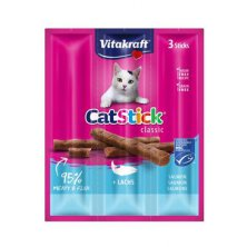 Vitakraft Cat pochoutka Stick mini  Losos 3x6g