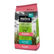 Nativia Dog Puppy Lamb&Rice 15kg