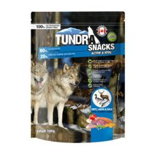 TUNDRA dog snack Duck, Salmon, Game Active&Vital 100g