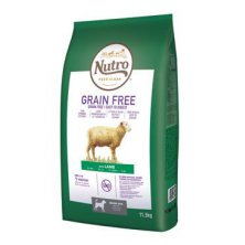 NUTRO Dog Grain Free Senior Lamb 11,5kg