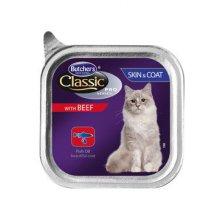 Butcher´s Cat Pro Series Sking&Coat hovězí vanička 85g