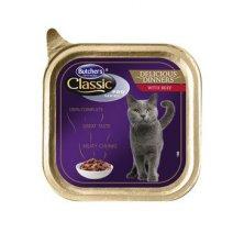 Butcher´s Cat Pro Series Del.Dinner hovězí vanička 85g