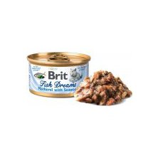 Brit Cat konz Brit Fish Dreams Mackerel & Seaweed 80g