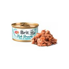 Brit Cat konz Brit Fish Dreams Tuna & Salmon 80g