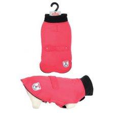 Obleček voděodolný pro psy RIVER červená 25cm Zolux