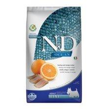 N&D OCEAN DOG GF Adult Mini Herring & Orange 2,5kg