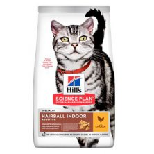 """Hill´s Fel. Dry Adult""""HBC for indoor cats""""Chicken 3kg"""