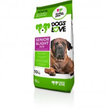 Dogs love Senior&light 10kg